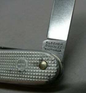 1970 Elsener / Victorinox 93mm model 1961 alox soldier Swiss Army Knife