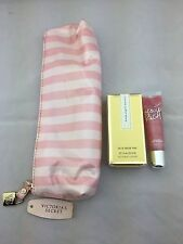 VICTORIA'S SECRET HEAVENLY PERFUME AND LIP GLOSS WITH BAG -Brand New