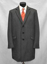 Flawless THEORY Prescott Charcoal Grey Wool/Cashmere Streetracer Coat Sz XL $695