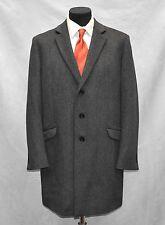 Flawless THEORY Prescott Charcoal Grey Wool/Cashmere Streetracer Coat Sz XL $695
