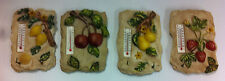 Small Fruit Resin Thermometers & Key Holder