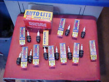 10 NOS AUTOLITE BT-9 AC-86 D-16 BUICK CADILLAC CHEVY FORD HUDSON LINCOLN OLDS 32