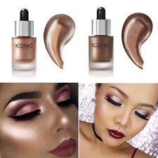 3 Colors Women Shimmer/Matte Highlighter Bronzer Eyeshadow Pressed Powder