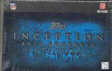2012 Topps Inception Factory Sealed FB Hobby Box 2 AUTOS Nick Foles RC  ??