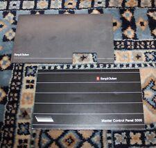 BANG & OLUFSEN Master Control Panel 5000 Manual and Sleeve - B&O- Nice !!