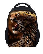 "12"" Small Kid's Bag Child Boy Leopard Schoolbag Preschool Backpack Bags Toddler"