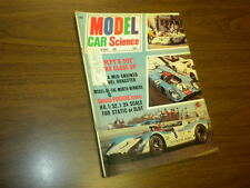 MODEL CAR & SCIENCE magazine NOVEMBER 1971 slot cars Monogram kits matchbox