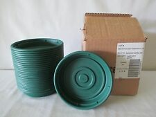 """*24* NEW HEAVY DUTY FLOWER POT SAUCERS BASES PLATES FITS 6"""" PLANTER EVER GREEN"""