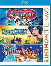Anastasia / Ferngully / Thumbelina [Blu-ray]  Blu-ray Used - Very Good