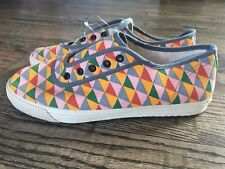 Startas Women's Sneakers Aztec Angle Shoes Handmade from Croatia Size 6 Eu 37