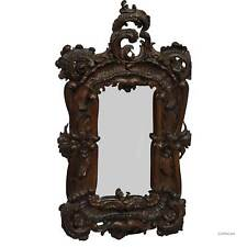 great picture frame with baroque style carvings, ca. 1920