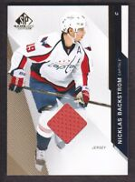 2014-15 SP Game Used Gold Jersey #66 Nicklas Backstrom Washington Capitals