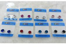 Lot of 10 Fashion Jewelry Color Crystal Magnetic Stud Earrings Girls Women Men