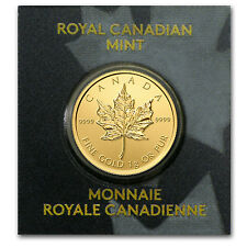 1 gram Gold Canadian Maple Leaf Coin - Maplegram25™ - SKU #85582