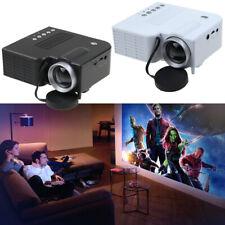 UC28B Portable Home Multimedia Cinema Theater Mini LED Projector TET LCD USB TF