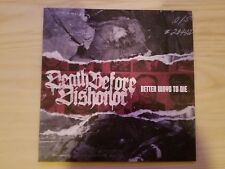 Death Before Dishonor - Better Ways to Die LP