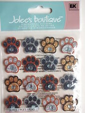 JOLEE'S BOUTIQUE STICKERS - PAW PRINT REPEATS dog cat animal tracks