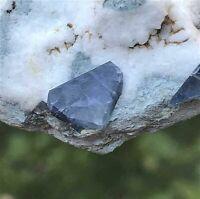 Joaquinit xx, Benitoite Gem Mine, Santa Rita Peak,Cal.,USA 5x4,5x1 cm