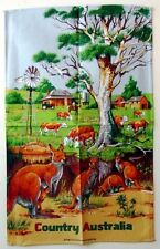 Tea Towel - Country Australia - 100% Cotton
