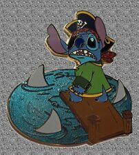 Stitch Pirate Adventure Pin - The Plank - Disney Auctions Pin LE 100