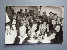 R&L Postcard: Austria Kitzbuhel Cafe Praxmair, 1950's Social History/Fashion