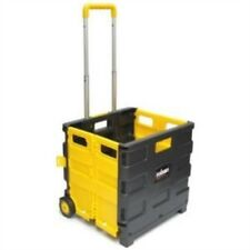 Collapsible Folding Boot Cart - Trolley Amtech Box New Shopping Wheels Foldable