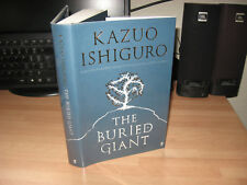 Kazuo Ishiguro - The Buried Giant Signed 1st/1st Nobel Prize Literature winner