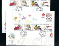 China Hong Kong 2021 FDC Game  XXXII Olympiad Japan Tokyo 2020 Stamp Olympic