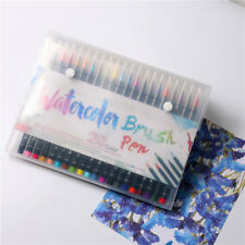 Chic Watercolor Brush Water Based Lettering Marker Calligraphy Pen