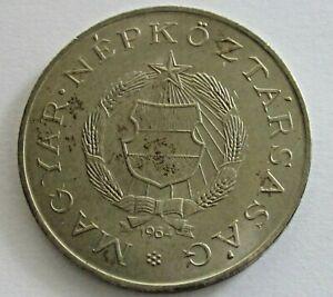 Hungary Copper Nickel/Zinc 2 Forint 1964,KM 556a