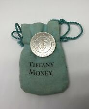Vintage Tiffany & Co Sterling Silver $25 Tiffany Money Token in Original Pouch
