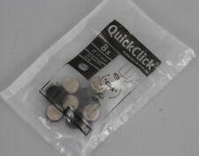WAGNER QuickClick Stuhlgleiter 8er-Set Filzgleiter Ultrasoft Slim 17mm SS3-QC17