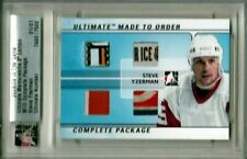 2008-09 ITG Ultimate Made to Order Complete Package Steve Yzerman 1/1 RED WINGS