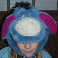 DISNEY LAND Paris EEYORE Costume MASK HAT Halloween Cosplay