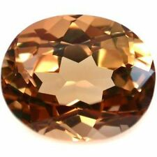 9.05 ct. Oval Faceted Imperial Topaz ( Brazil )