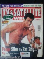 TV & SATELLITE WEEK - SYLVESTER STALLONE COPLAND - 19 JUNE 1999