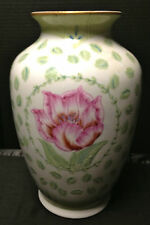 """Porcelain Vase, 13"""" tall, -Andrea By Sadek, """"In Full Bloom Collection """" Mint"""