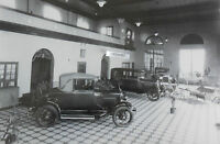 """12 By 18"""" Black & White Picture Ford 1928-1929 Dealer showroom 3 models"""