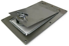 GAS FUEL TANK ACCESSORY BED FILL TRAP DOOR w/ LATCH