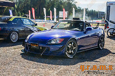 Honda S2000 CARBON FIBRE Front Bumper Splitter / Diffuser / Lip for Racing v6