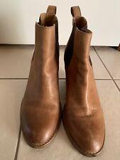 Tony Bianco Ankle Boots Tan Sz 7