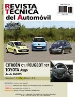 MANUAL DE TALLER Y MECANICA CITROEN C1 PEUGEOT 107 TOYOTA AYGO +REGALO