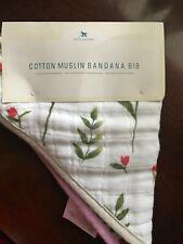 Little Unicorn Cotton Muslin Bandana Bib flora nwt