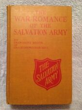 The War Romance of the Salvation Army / Grace Livingston Hill - 1919 - HB Book