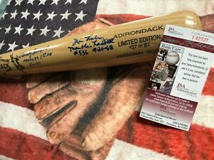 Mickey Mantle Career Home Run Bat - JSA Cert - SIGNED- #37 of 61 - Autographed