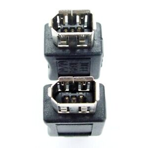 FireWire cable coupler / extender pair, 400mbps IEEE1391 *must be used in pairs*