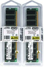 A-Tech 2GB 2 x 1GB PC3200 DDR 400 MHz Desktop DDR1 DIMM 184-Pin Memory RAM 2G 1G