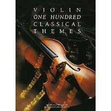 Violine Noten - ONE HUNDRED CLASSICAL THEMES -