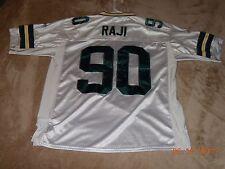 Reebok B.J. RAJI Green Bay Packers Away NFL Football Jersey (size 54)