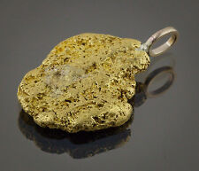 Californian Natural Gold Nugget Pendant, 7.04 Grams, Tested over 22K